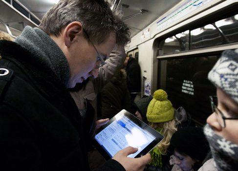 Бесплатный Wi-Fi в московском метро пока отменяется