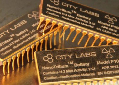City Labs предлагает ядерный аккумулятор для смартфонов