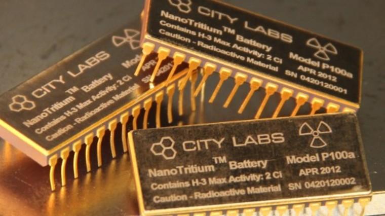 NanoTritium battery