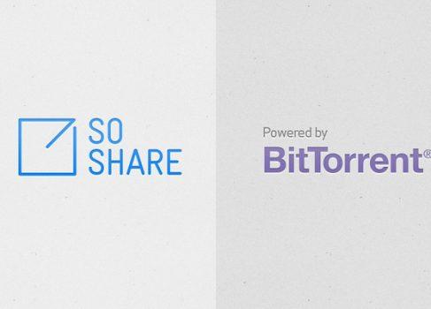 Заработал сервис SoShare для обмена особо «тяжелыми» файлами