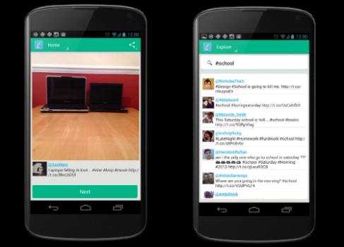 Vine Flow — просмотр видеороликов Vine для пользователей Android