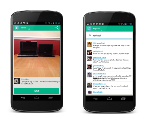 Vine-flow-Android