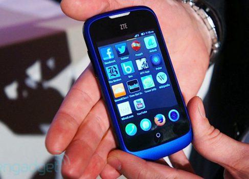 ZTE представила бюджетный смартфон на Firefox OS