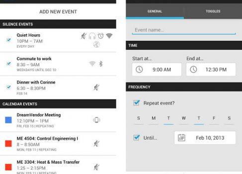 Silence для Android — приложение, которое поможет вам вовремя выключить звук и не пропустить важный звонок