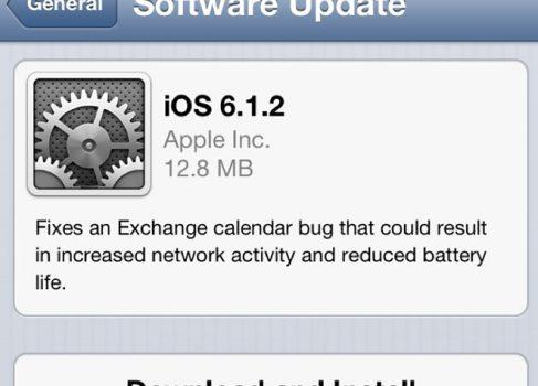 iOS обновилась до 6.1.2, а джейлбрейк evasi0n – до 1.4