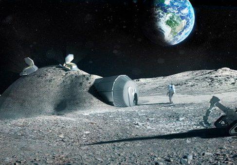 Лунную базу создаст 3D-принтер D-Shape