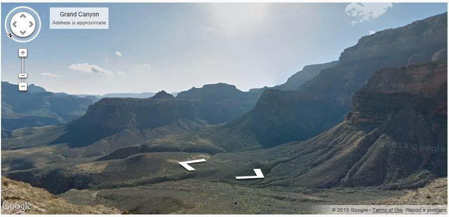 google maps grand canyon 2