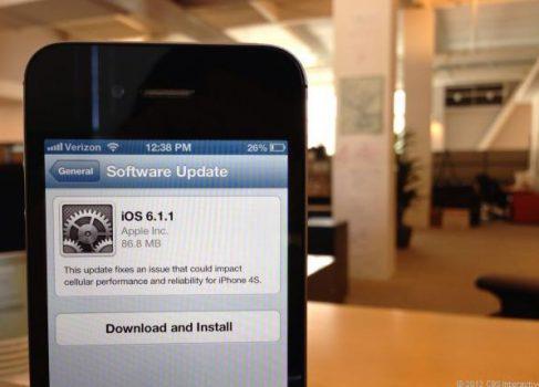 Apple обещает как можно быстрее выпустить обновление безопастности для iOS 6.1