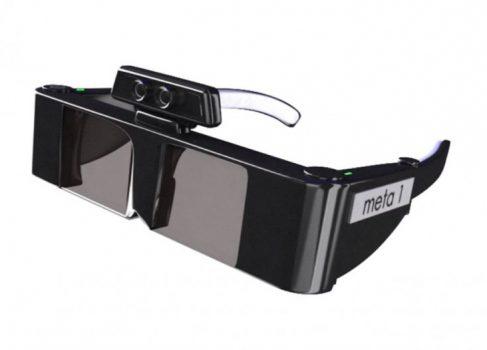 Очки «meta»: дополненная реальность, 3D и управление жестами