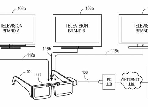 SONY патентует 3D очки, которые подойдут к любому 3D телевизору
