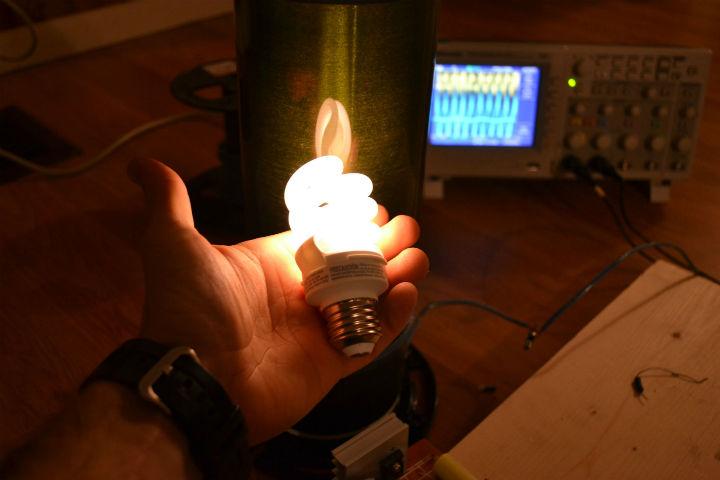 Электроэнергия одним проводом своими руками 776