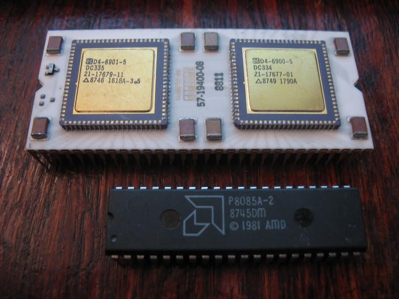 DEC PDP-11 J-11 Comparison