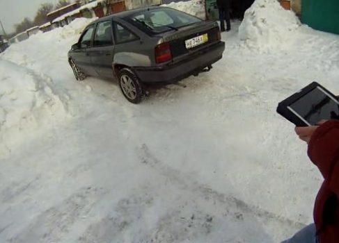 Тульские автолюбители собрали беспилотный автомобиль на базе Opel Vectra