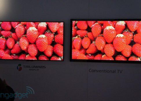 Sony начала поставки HDTV телевизоров на квантовых точках