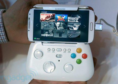 Samsung разрабатывает игровой контроллер для Galaxy S IV