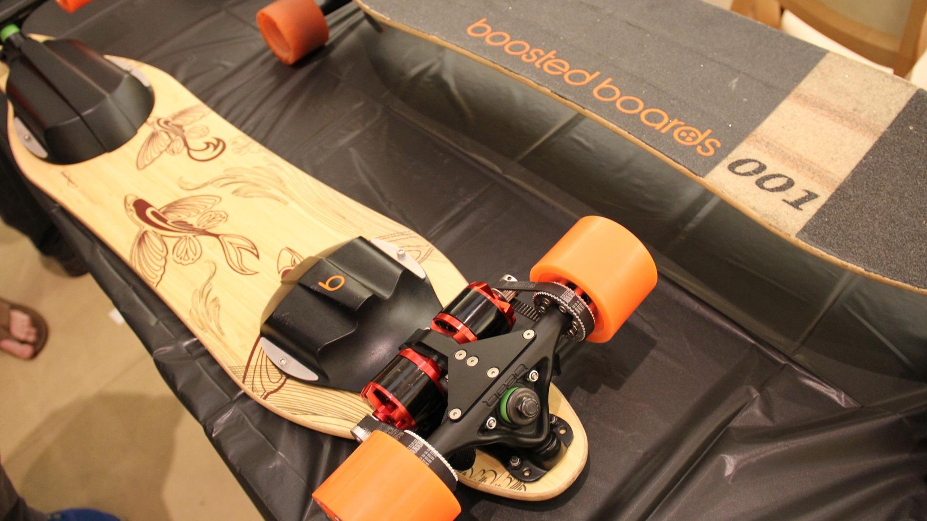Как сделать скейт с мотором видео