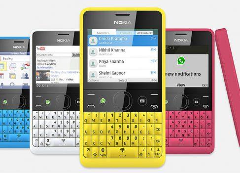 QWERTY-смартфон от Nokia — это Asha 210 с кнопкой WhatsApp