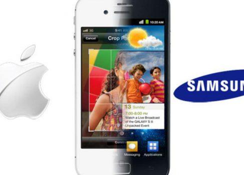 Samsung теснит Apple на рынке смартфонов