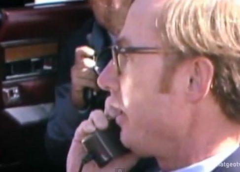 Видео первого коммерческого сотового звонка выложили в сеть