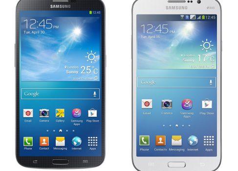 Samsung представила 5,8 и 6,3-дюймовые смартфоны Galaxy Mega