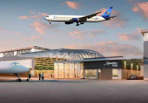 Google построит частный терминал для своих самолётов в Сан Хосе