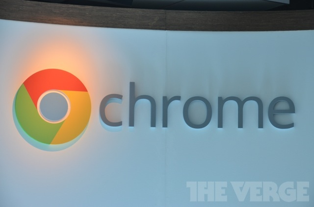 google-chrome-logo-on-wall