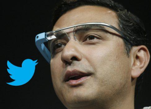 Twitter тестирует клиент для Google Glass