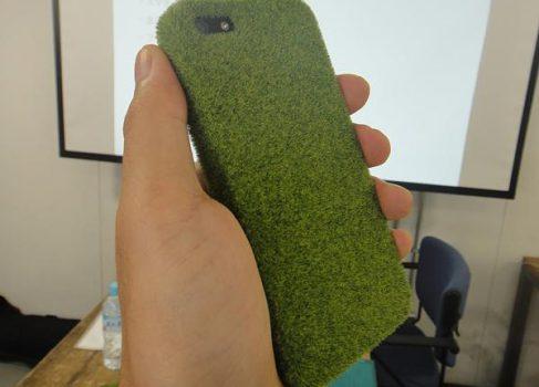 В Японии появились «травяные» чехлы для iPhone