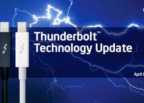 Новый Thunderbolt от Intel: вдвое быстрее и с поддержкой 4K-видео