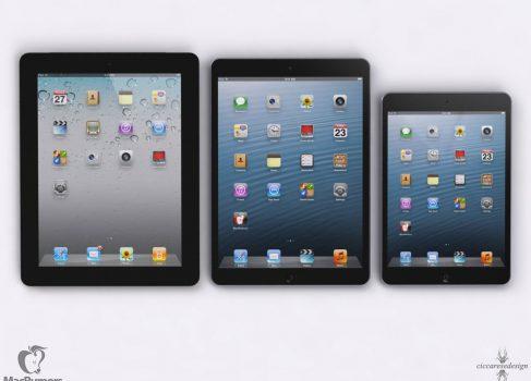 iPad 5: на 15% тоньше и 25% легче, чем существующий