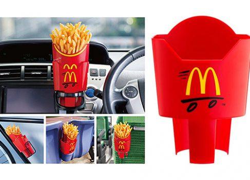 Подставка под картошку фри в каждом McDonald's Японии