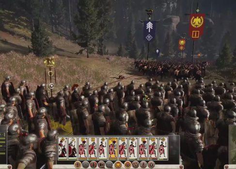 Битва в Тевтобургском лесу по версии Total War: Rome 2 [видео]