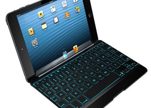 Zagg предлагает две новые клавиатуры с подсветкой для iPad mini