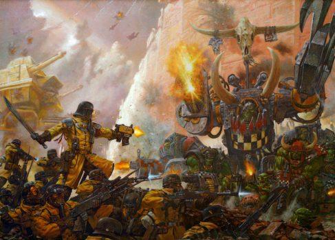 Анонсирована Warhammer 40000: Armageddon — классическая пошаговая стратегия
