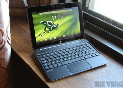 HP анонсировала гибридные SlateBook x2 и Split x2