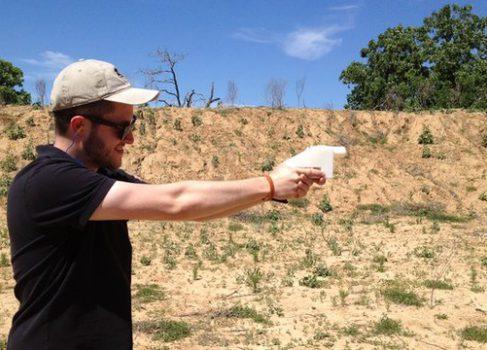 Первый напечатанный на 3D-принтере пистолет совершил свой первый выстрел