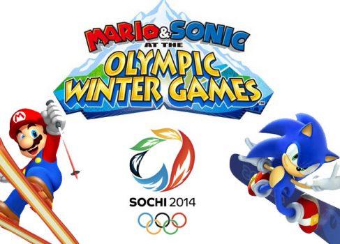 Nintendo разрабатывает Mario & Sonic at the Sochi 2014 Olympic Winter Games для Wii U