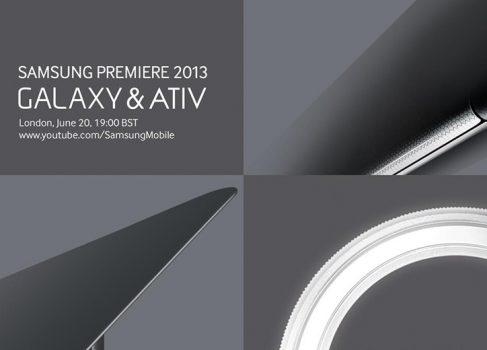 Samsung обещает новые девайсы серий Galaxy и ATIV 20 июня