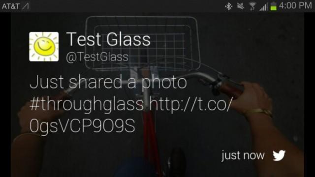 TwitterGlass
