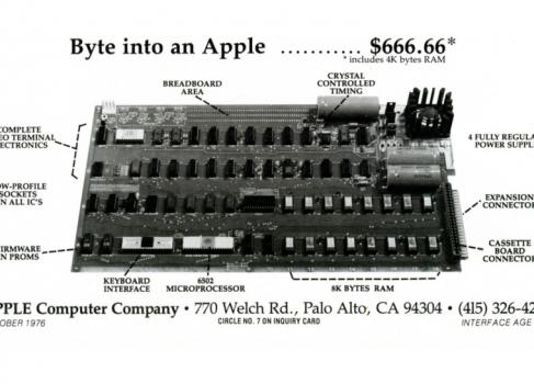 Один из шести работающих Apple I продали за $671 400