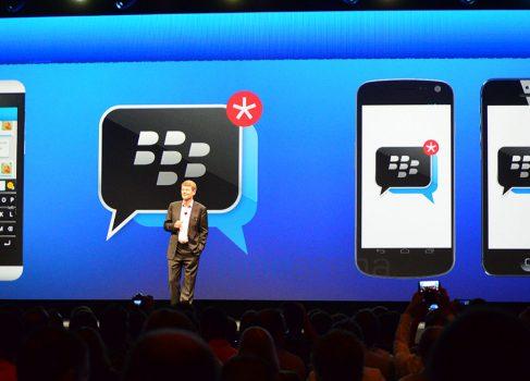 Этим летом BlackBerry портирует BBM на iOS и Android