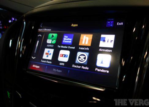 GM добавит автомобильные приложения до конца года