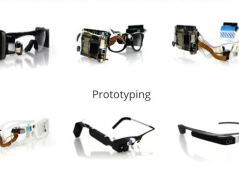 Эволюция Google Glass на уровне прототипов