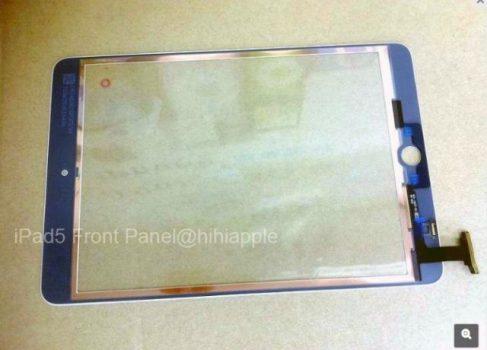 Передняя панель iPad5 утекла в сеть