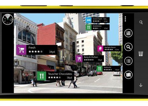 В картах Nokia Here появился браузер дополненной реальности LiveSight