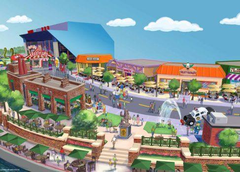 Тематический парк «Симпсоны» откроется этим летом