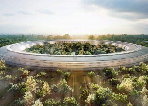 Новый кампус Apple будут строить 9200 человек