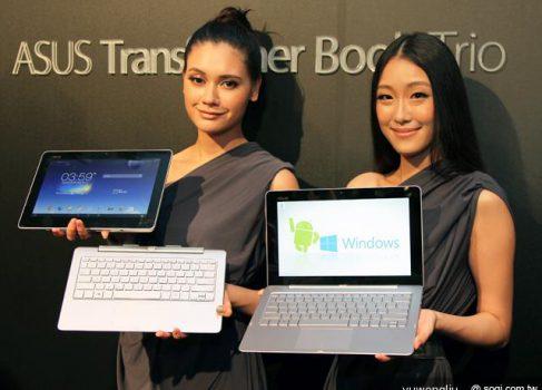 Asus анонсирует Transformer Book Trio — планшет, ноутбук и PC в одной системе