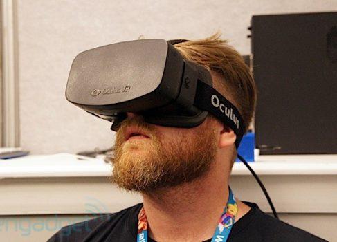 E3: прототип Oculus Rift 1080p HD