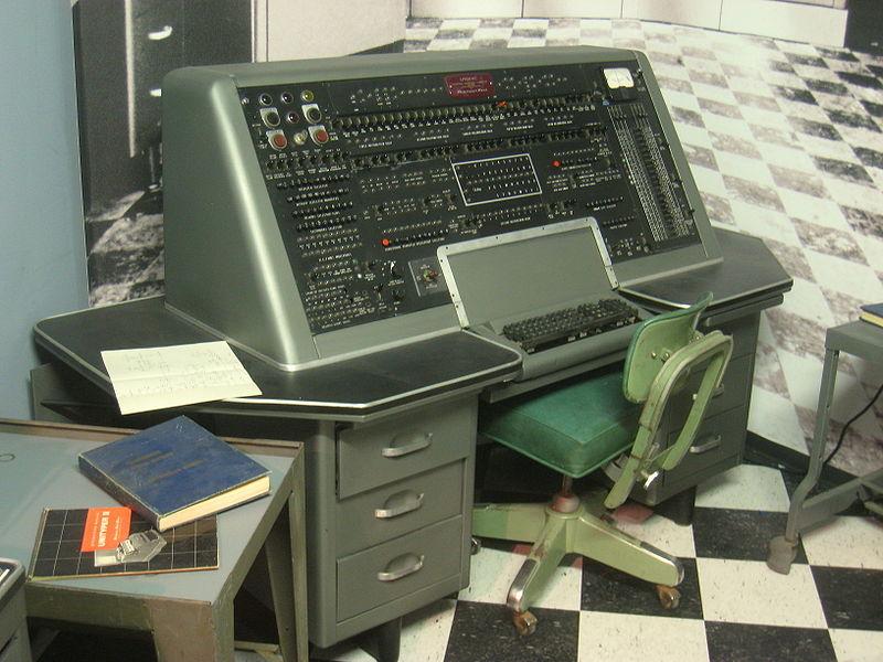 Univac_operator_console